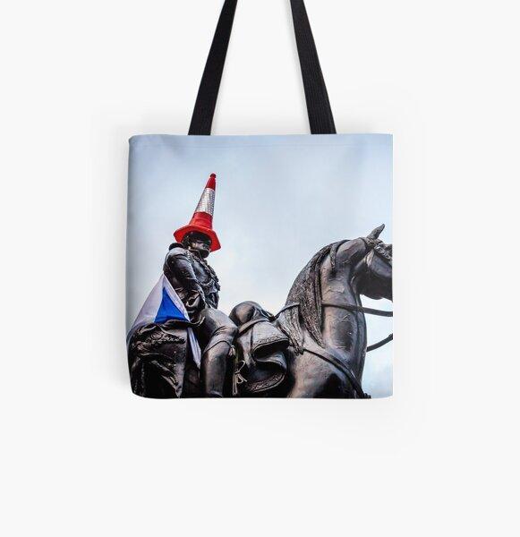 Glasgow Duke of Wellington All Over Print Tote Bag