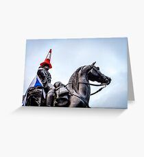 Glasgow Duke of Wellington Greeting Card