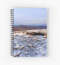 Hill Walking On Moylenanav Spiral Notebook