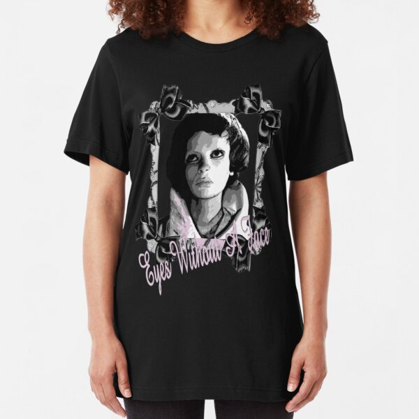 Eyes Without a Face Slim Fit T-Shirt