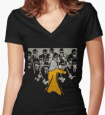 Kill The Bill Women's Fitted V-Neck T-Shirt