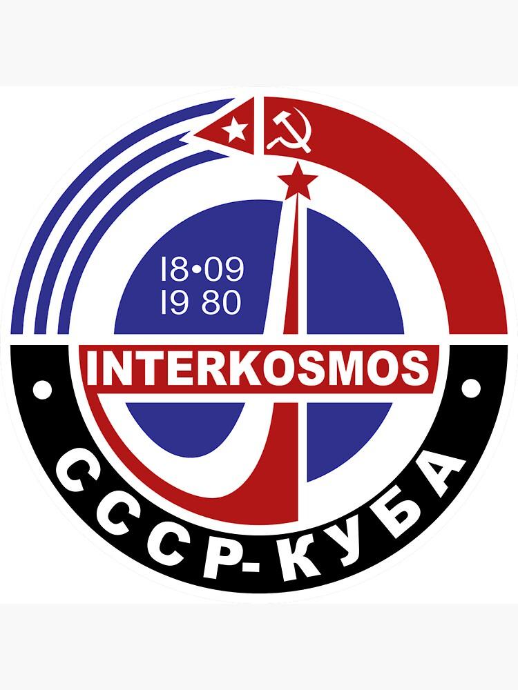 INTERKOSMOS Интеркосмос 1980er Jahre Sowjetisches Raumfahrtprogramm von Martstore