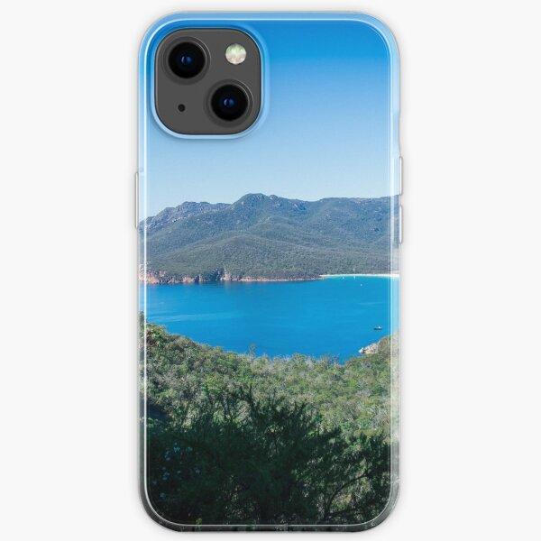 Wineglass Bay, Freycinet National Park, Tasmania iPhone Soft Case