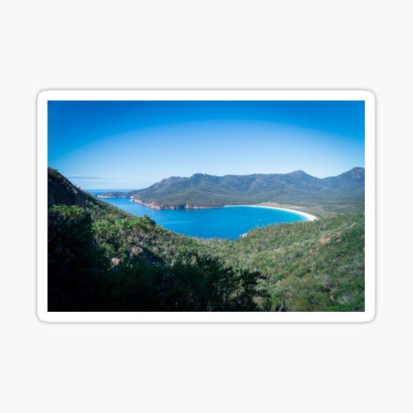 Wineglass Bay, Freycinet National Park, Tasmania Sticker