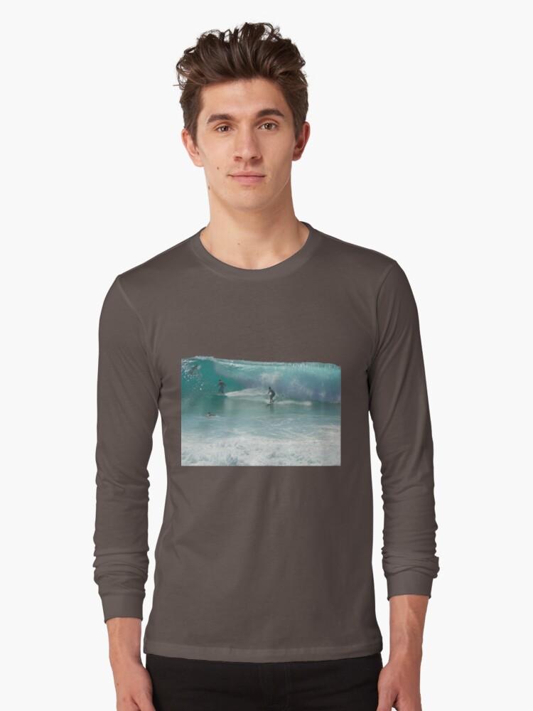 Surfing Burleigh Style #3  by Virginia McGowan