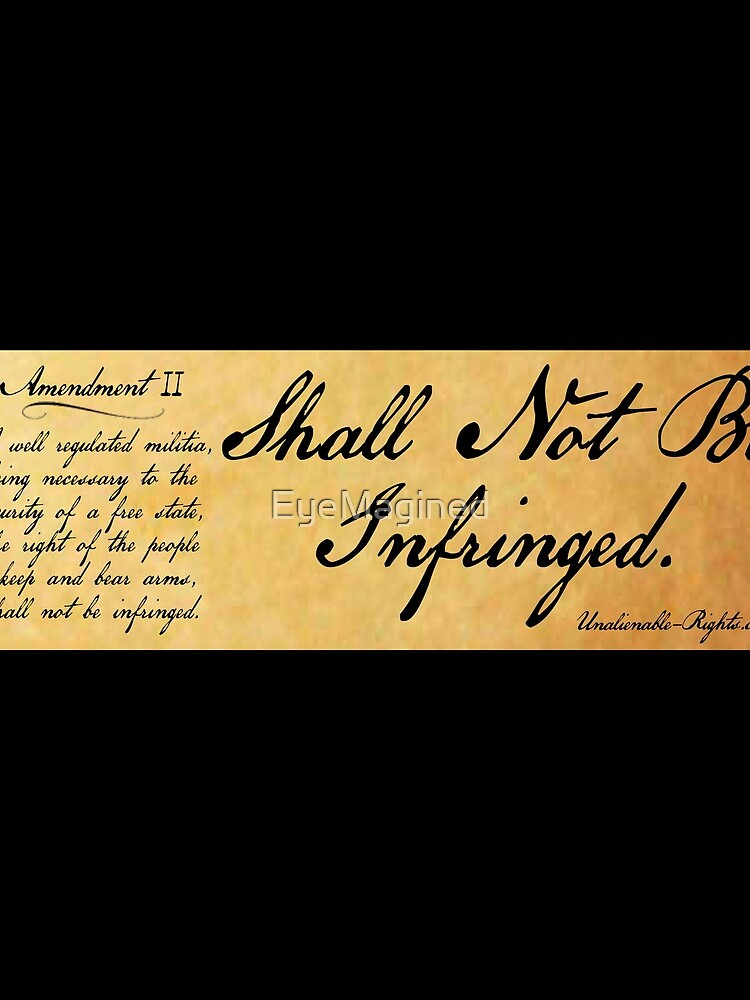 Shall Not Be Infringed by EyeMagined