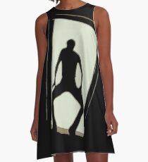 Michael Jackson A-Linien Kleid