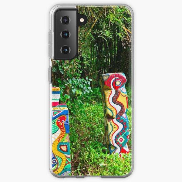 Colourful Garden Art Samsung Galaxy Soft Case