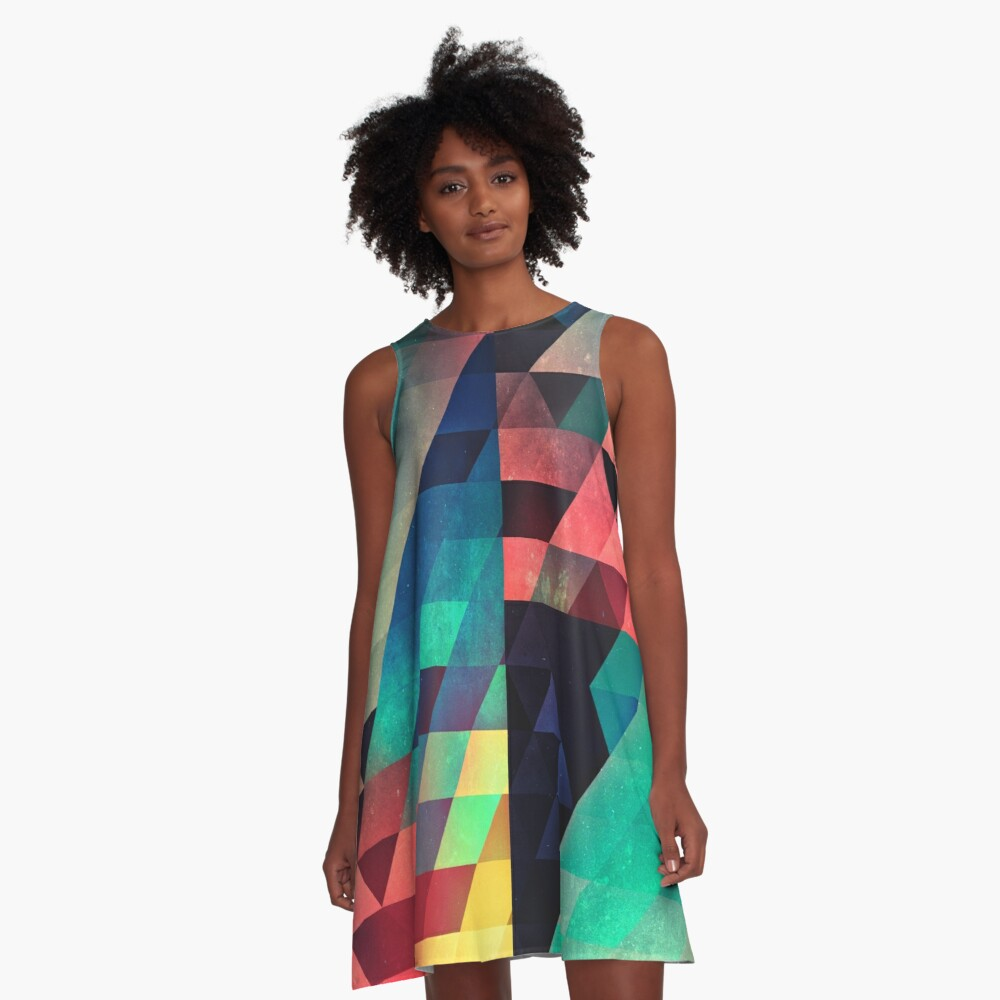 whw nyyds yt A-Linien Kleid