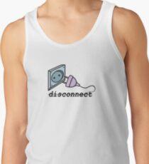 disconnect Men's Tank Top