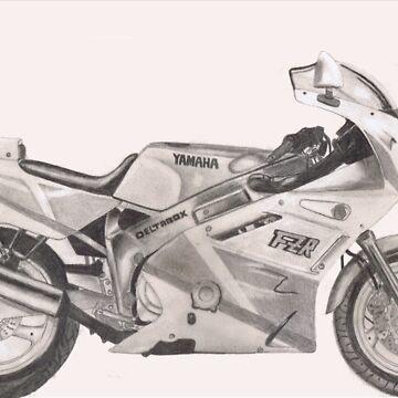 Yamaha FZR600 by Lickapop