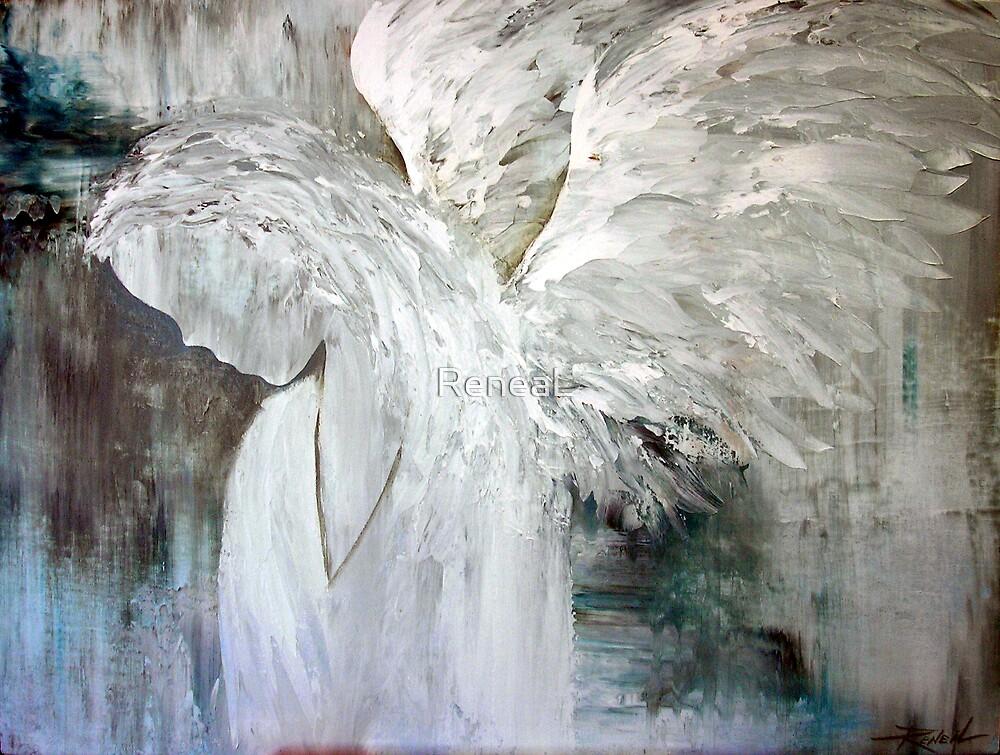"""EN1028 Angel Painting"" by ReneaL | Redbubble"