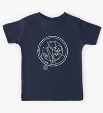 Allons-y! white Kids Tee
