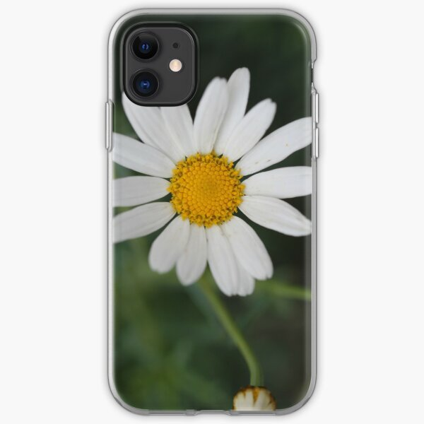 White Daisy  iPhone Soft Case