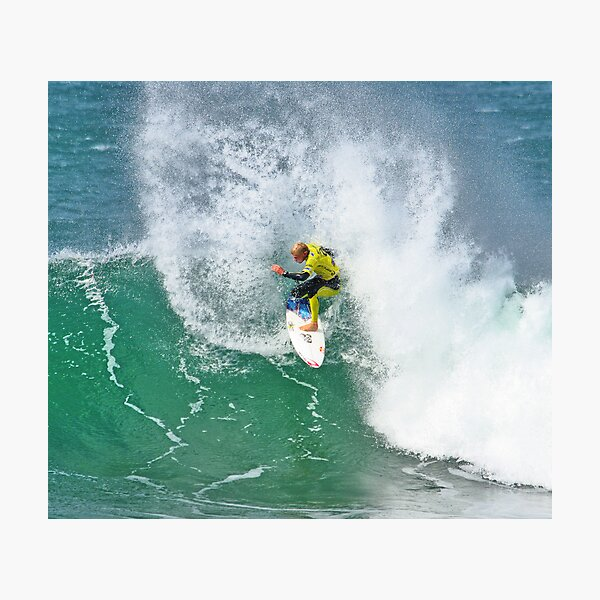 Mick Fanning in 2009 Rip Curl Pro, Bells Beach (3) Photographic Print