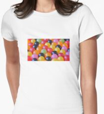 Gumdrops Keep Falling on My Head Women's Fitted T-Shirt
