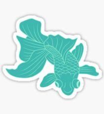 Fresh Goldfish Sticker