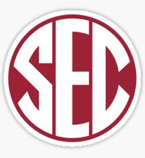 Arkansas Razorbacks SEC Logo Sticker