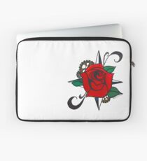 Steampunk Rose Laptop Sleeve