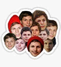 Michael Cera Collection Sticker