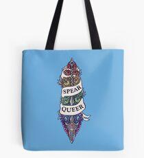 SPEAR QUEER Tote Bag