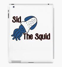 Sid the Squid! iPad Case/Skin