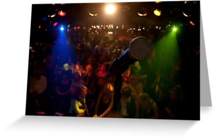 The Comedians Mic by Philip  Rogan
