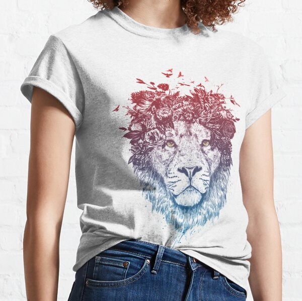 Floral lion III Classic T-Shirt