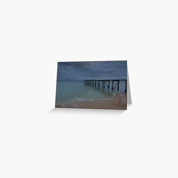 Tideways Jetty Greeting Card