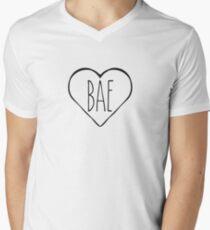 Bae heart Men's V-Neck T-Shirt