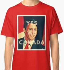 Justin Trudeau Yes We Canada Classic T-Shirt