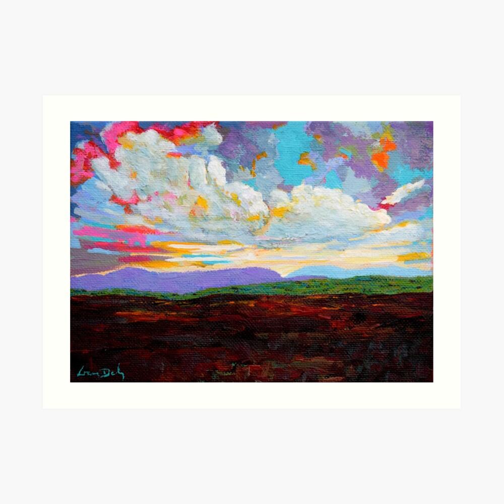 Donegal Cloud, Ireland Art Print