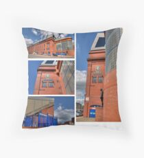 Ibrox Montage Throw Pillow