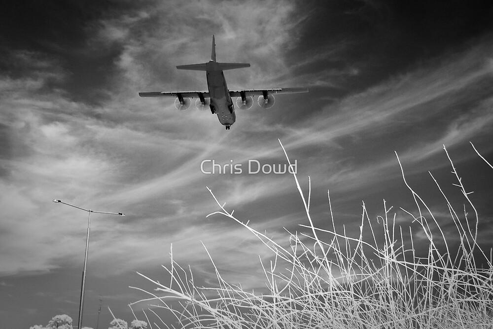Happy landing Hercules by Chris Dowd