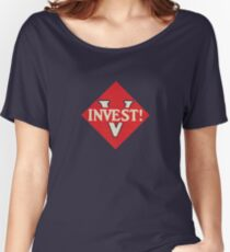 Invest! Women's Relaxed Fit T-Shirt
