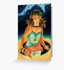 The Planets: Saturn Greeting Card