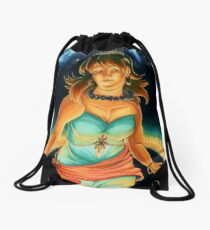 The Planets: Saturn Drawstring Bag