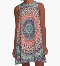 Mandala 01 A-Line Dress