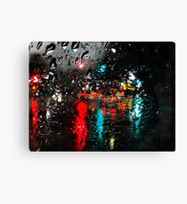 Santa Cruz Rain Canvas Print