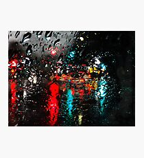 Santa Cruz Rain Photographic Print