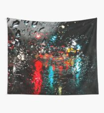Santa Cruz Rain Wall Tapestry