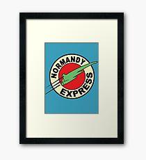 The Planet Express Parody: Mass Effect Framed Print
