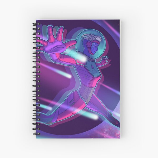Spacewalk Spiral Notebook