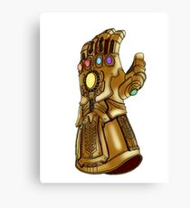 The Infinity Gauntlet Canvas Print