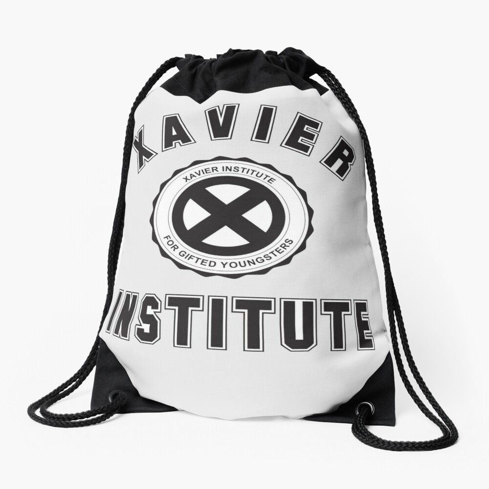 XAVIER INSTITUTE FOR GIFTED YOUNGSTERS Drawstring Bag
