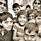 Children of Rajasthan, 2008 by Tash  Menon