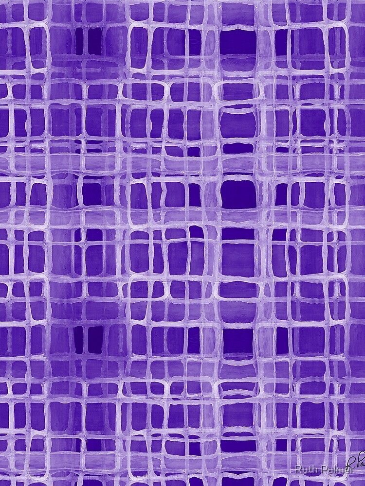Irregular Purple Overlap  by RuthPalmer