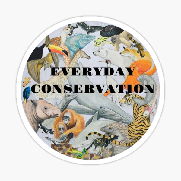 Everyday Conservation Sticker