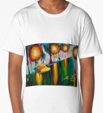 Autumn Streetscape Long T-Shirt