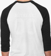Miyazaki PYREX (white text) Men's Baseball ¾ T-Shirt